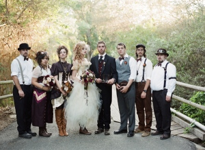 http://ruffledblog.com/victorian-steampunk-wedding/